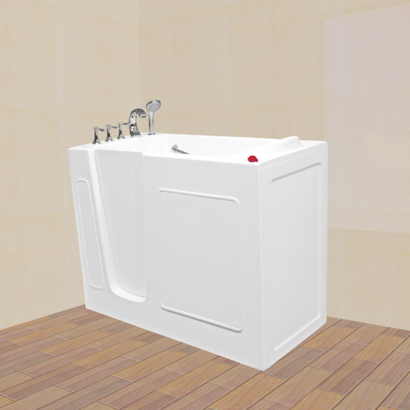 walk in tub 26''Wx52''Lx40''H