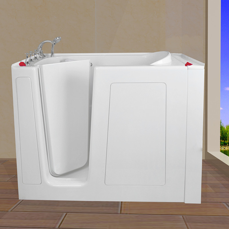 safe step bathtub 30''Wx52''Lx40''H