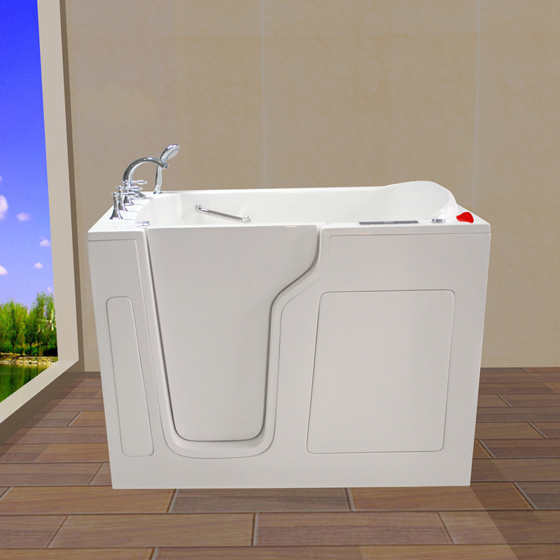 massage walk in tub 35''Wx55''Lx41''H