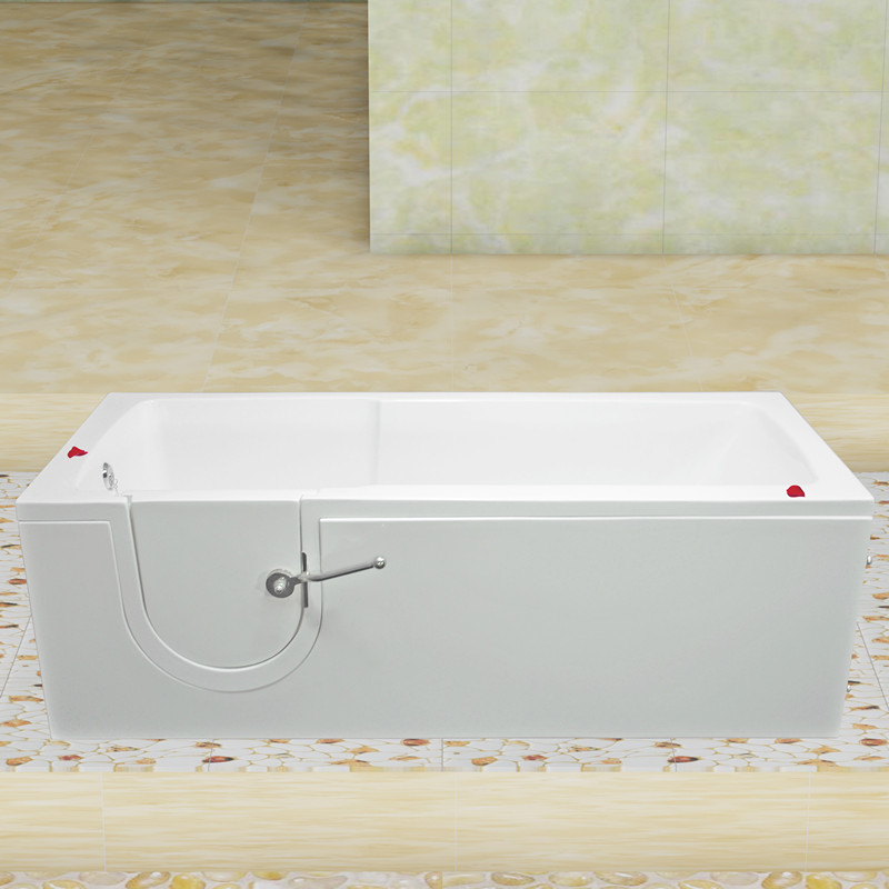 small walkin tub 30''Wx60''Lx22.4''H