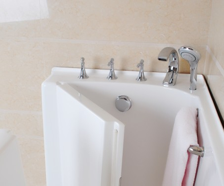 Roman Faucets for walk in tub